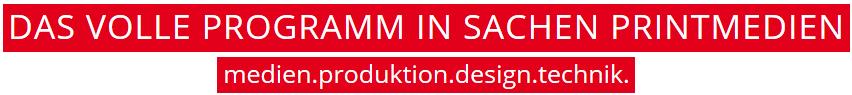 Schoell Medien - Das volle Programm in Sachen Printmedien